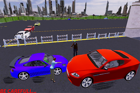 Real car parking classic driving game Screenshot