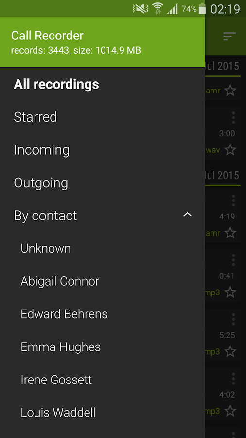 Call Recorder- screenshot