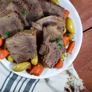 Slow Cooker Beef Roast.