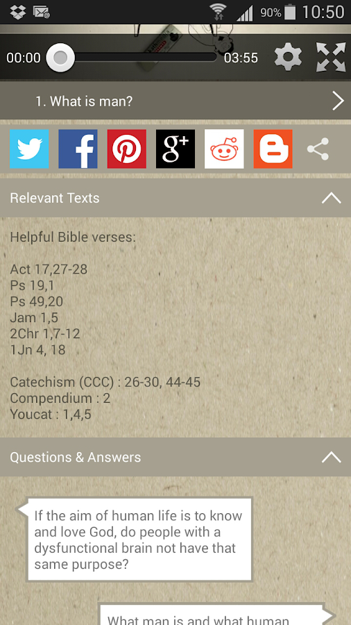 3 Minute Catechism - 3MC- screenshot