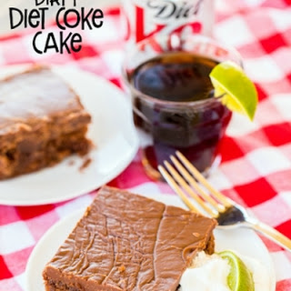 Dirty Diet Coke Cake.