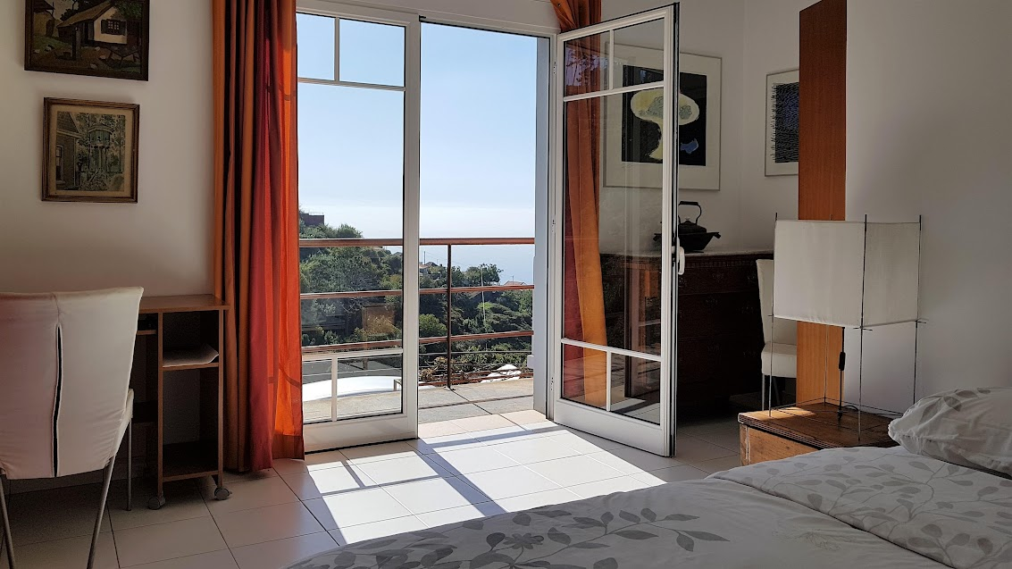 All rooms in our house have a stunning view over the ocean and the stunning scenery of West Madeira.