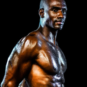 Ripped by Evan Jones - Sports & Fitness Fitness ( body, fit, abs, fitness, muscles, 2015, muscle, black, workout )