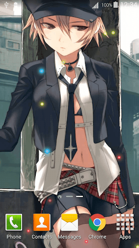 Anime Girl Wallpaper HD 2.5 screenshots 4