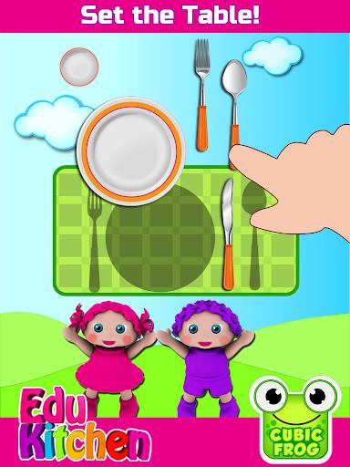 Toddler Kitchen Food Cooking Games-EduKitchen Girl 7.24 screenshots 9