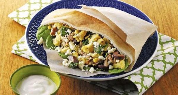 Greek Breakfast Pockets Recipe