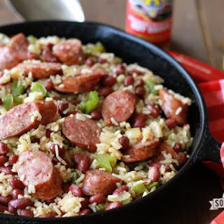 One-Pot Red Beans and Rice.