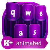 Abstract Animated Keyboard