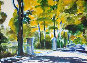 Photo: oil on canvas