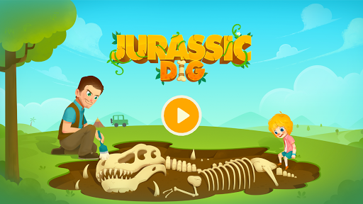 Jurassic Dig - Dinosaur Games for kids  screenshots 1