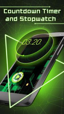 Alarm Clock & Themes - Stopwatch, Timer, Calendar - screenshot