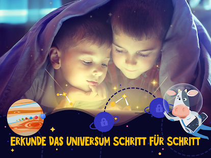 Star Walk Kids 🚀💫 Astronomie Spiel für Kinder Screenshot