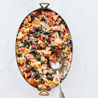 Sesame Bagel Breakfast Casserole Recipe