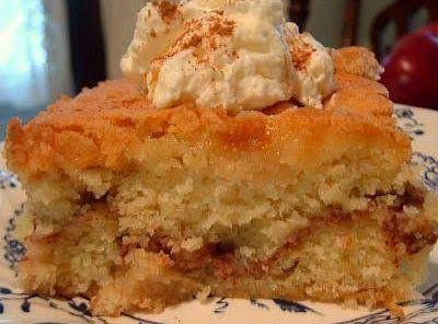 Harvest Apple Cake Recipe