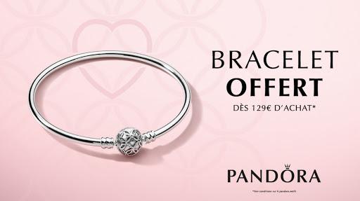 Le bracelet édition limitée Pandora offert | Atrium Centre Commercial