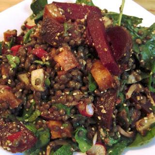 Mercimek Salatasi – warm lentil salad
