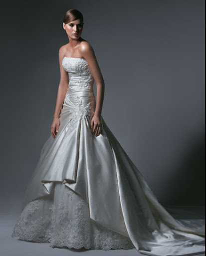 Strapless Wedding, Bridal Gown