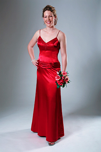 Red Wedding Dresses #2