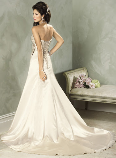 Backless Wedding Dresses Gown
