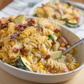 Praiseworthy Pasta Salad With Ham