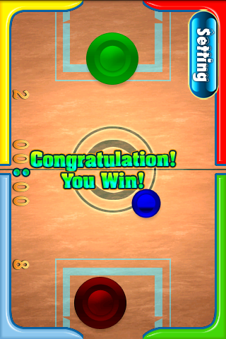 Скриншот Ice Hockey Game
