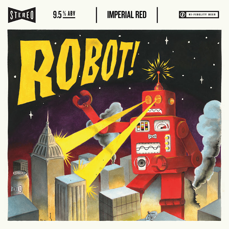 Logo of Stereo Robot- Imperial Red Ale