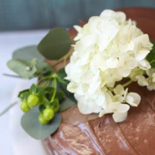 Vanilla Chocolate Chip Cake with Whipped Ganache! Recipe