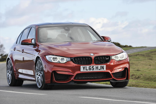 The BMW M3 with Competition Package