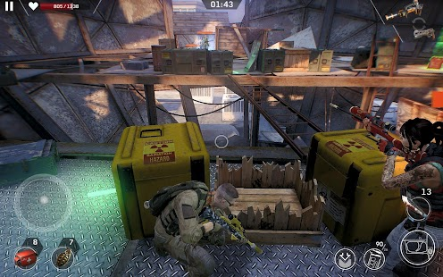 Left to Survive: Dead Zombie Survival PvP Shooter Screenshot