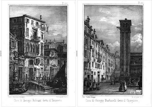 Case di pittori a Venezia:Tintoretto e Giorgione