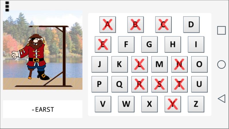 Hangman Plus screenshot #1