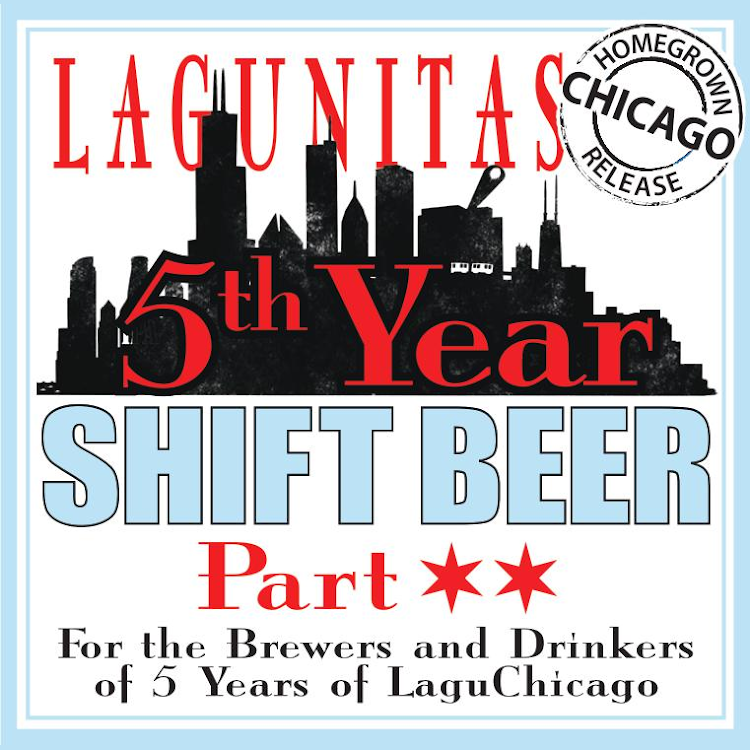 Logo of Lagunitas 5th Year Shift Beer Part 2