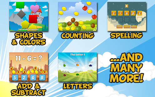 Preschool and Kindergarten Learning Games Screenshot