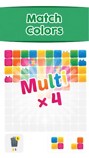 Tetrik: Color Block Puzzle with Reverse Gravity! screenshot 2