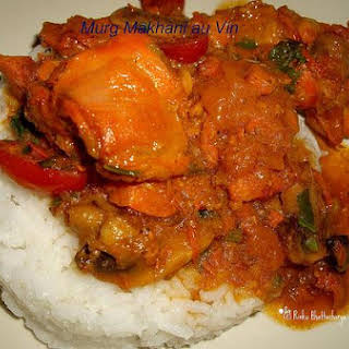 Indian Butter Chicken With Wine.