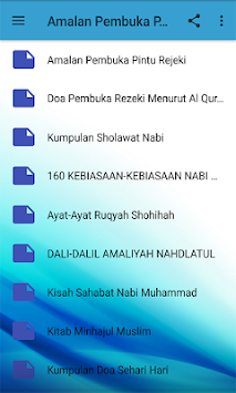 Download Amalan Pembuka Pintu Rejeki APK latest version by