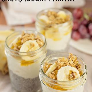 Banana Nut Chia and Yogurt Parfait