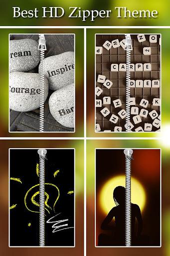 Inspirational Zipper Lock