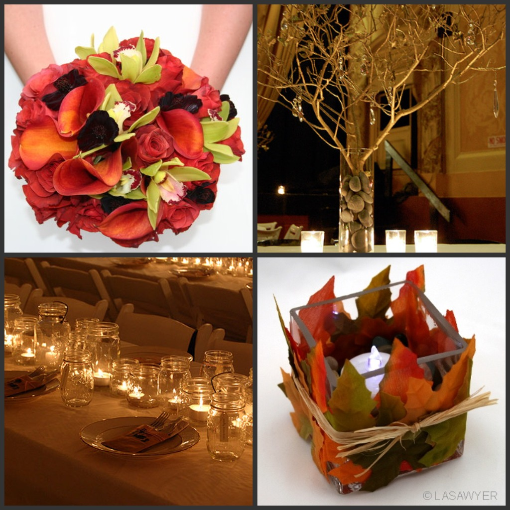 Inexpensive Wedding Ideas For Fall: Dalia's Blog: Fall Wedding Color Schemes