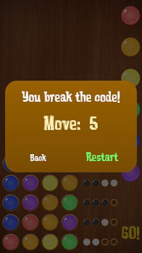 Mastermind - Code breaker (Color Blind friendly) 1.0 screenshots 5