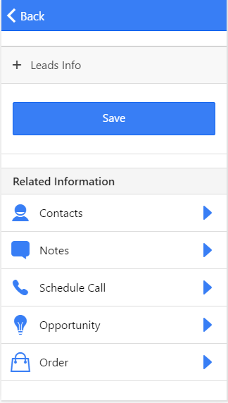 PMAM CRM- screenshot