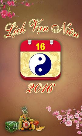 Lich Van Nien - Lịch VN 2016 7.5 screenshot 334421
