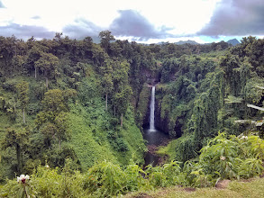 Photo: We stopped for a second waterfall on the way to Lalomanu, at Sopoaga.  How could we not?
