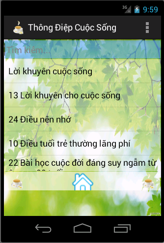 Thong Diep Cuoc Song