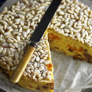 Polenta and Fig Cake