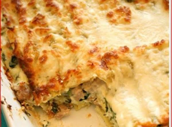 Karla's Chicken Lasagna