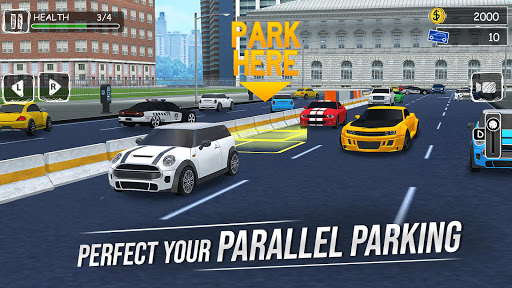 Parking Professor: Car Driving School Simulator 3D 1.1 screenshots 2