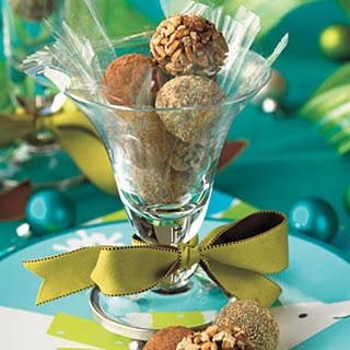 Peanut Butter-Cocoa Truffles
