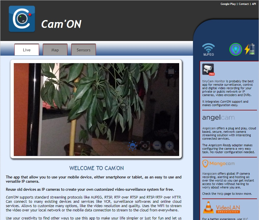 CamON Live Streaming screenshots