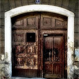 Old door by Karel Šula - Buildings & Architecture Other Exteriors ( doors )